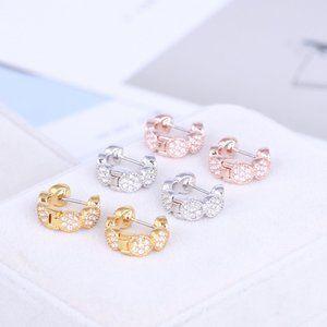 Kate Spade Geometric Diamond Earrings